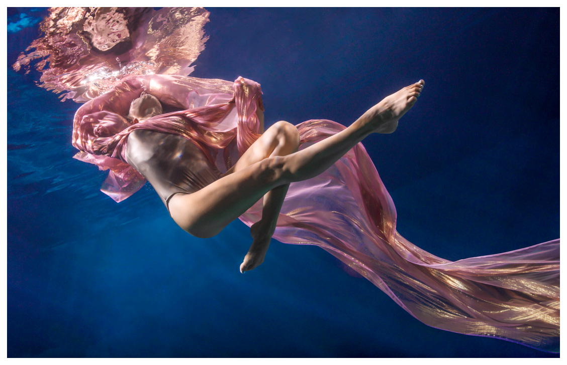 Underwater Fashion Photography by Maya